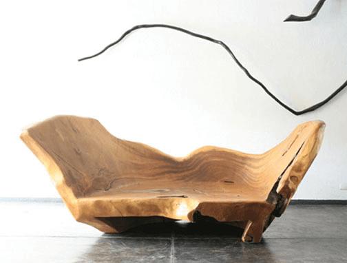 Элитная мебель из цельного дерева