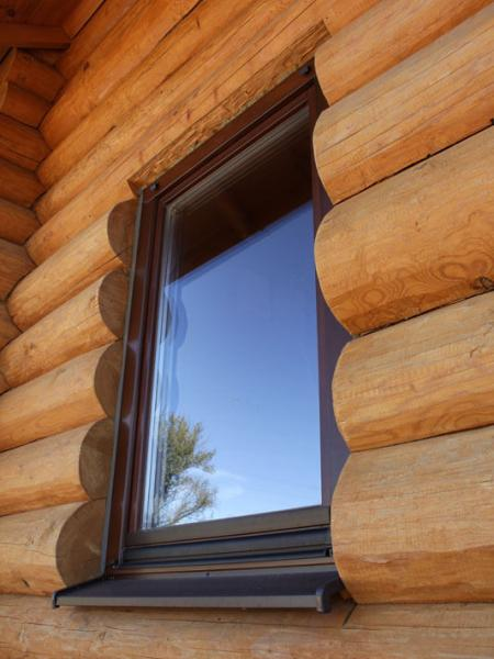 single-leaf wooden windows 1
