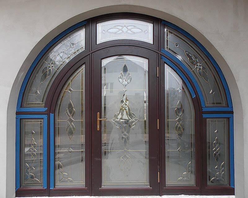 arched-window-with-stained-glass-installation
