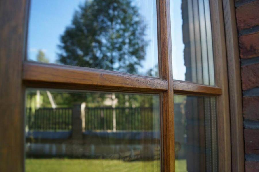 Дом в Колодищах с дубовыми окнами 2