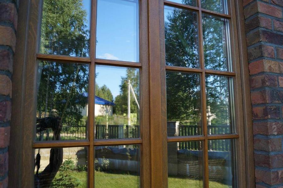 Дом в Колодищах с дубовыми окнами 3