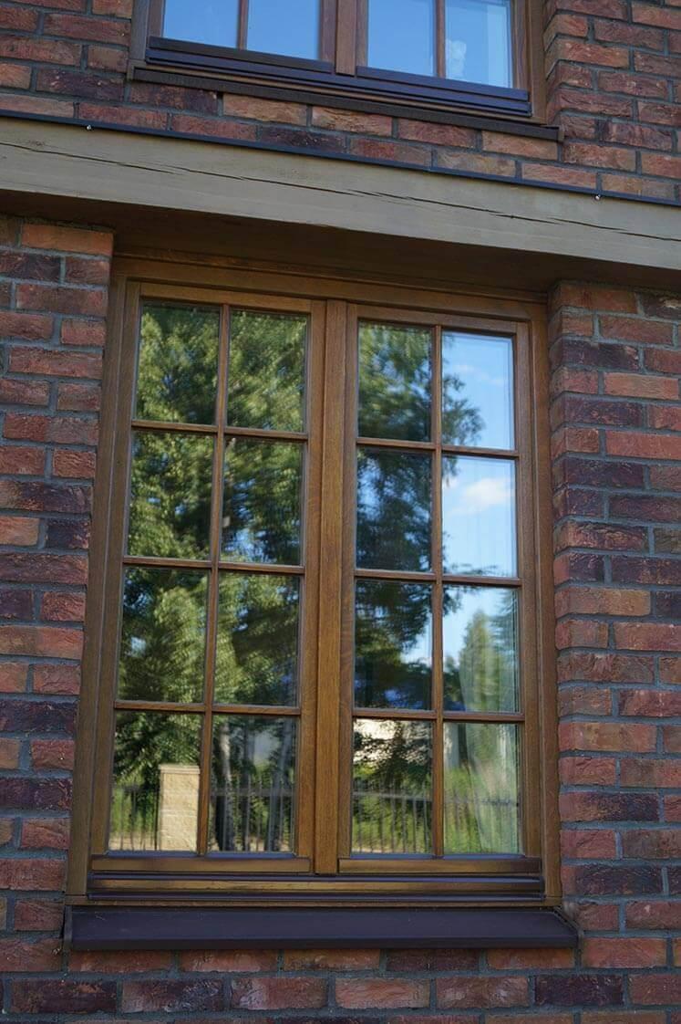 Дом в Колодищах с дубовыми окнами 4