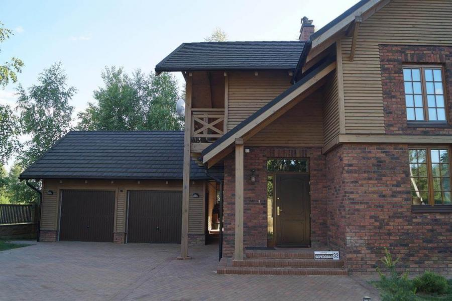 Дом в Колодищах с дубовыми окнами 7