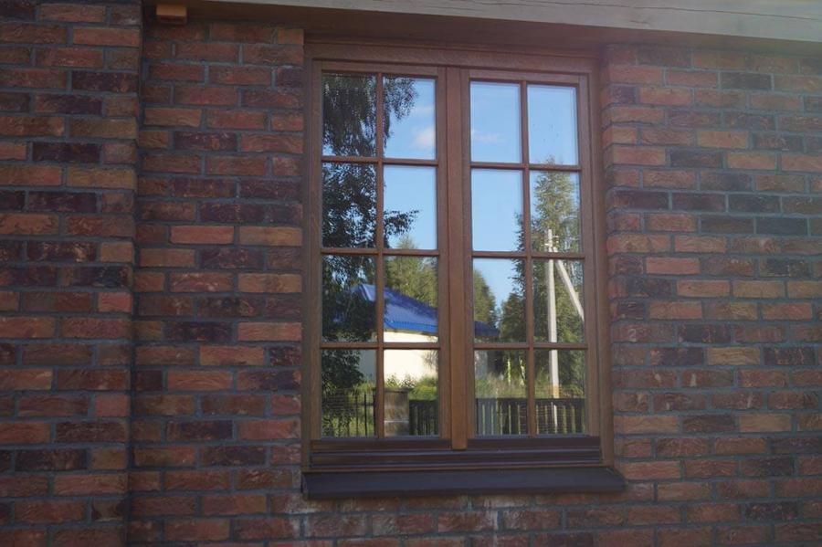 Дом в Колодищах с дубовыми окнами 8