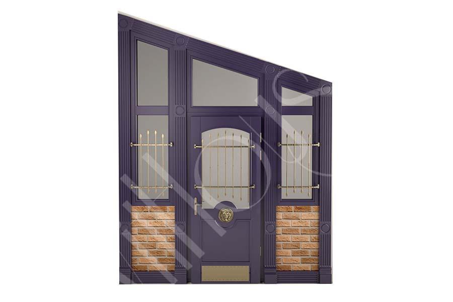 эскиз входной двери